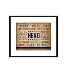 Patriotic Military Hero Fourth of July  Art by DoodleGraphics, $20.00