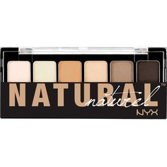 Nyx Cosmetics The Natural Shadow Palette ($7.95) ❤ liked on Polyvore featuring beauty products, makeup, eye makeup, eyeshadow, beauty, eyes, filler, nyx eyeshadow, nyx eye shadow and palette eyeshadow