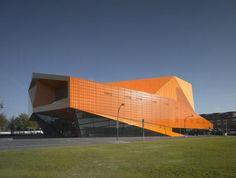Agora theatre Lelystad by UNStudio
