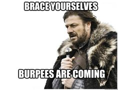 The ultimate challenge everyone loves to hate > Complete the #burpee challenge this month