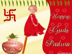 www.MIthiArt,com wishes you all A Happy Gudy Padwa.  Gudhi Padva (Marathi: गुढी पाडवा Guḍhī Pāḍavā), is the Marathi name for Chaitra Shukla Pratipada.It is celebrated on the first day of the Chaitra month to mark the beginning of the New year according to the lunisolar Hindu calendar. This day is also the first day of Chaitra Navratri and Ghatasthapana also known as Kalash Sthapana is done on this day.