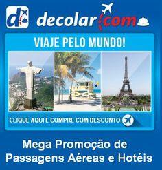 """Mega Promoção de Passagens Aéreas e Hotéis """"CLIQUE AQUI E SAIBA MAIS"""""""