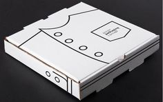This Pizza Packaging Concept References the Recipe's Master #paper #packaging trendhunter.com