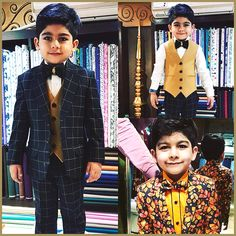 Introducing the Youngest Model of our Attire Family :)  #Attire #Fashion #Tuxedo #Designer