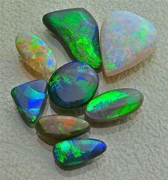 Opals available for custom work, Glenn Dizon Designs.