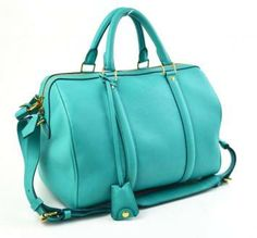 Louis Vuitton Turquoise Leather Sofia Coppola Bag PM Handbag Bag