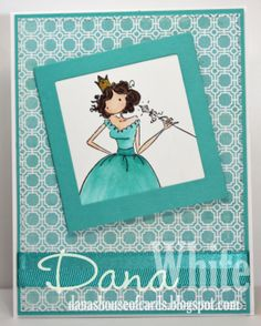 Uptown Girl Faith the Fairy - image from Stamping Bella