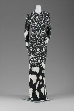 2001 Womans evening dress, Geoffrey Beene, from the Museum of Fine Arts, Boston