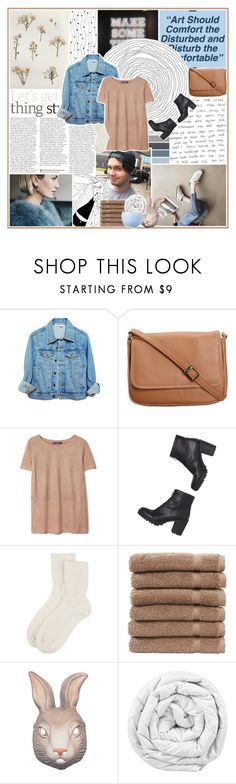 """the voice inside sings a different song // #213 ~ 130217"" by elliebonjelly ❤ liked on Polyvore featuring GUESS, High Heels Suicide, CO, Violeta by Mango, Monki, Johnstons of Elgin, Linum Home Textiles, Brinkhaus, Rosenthal and vintage"