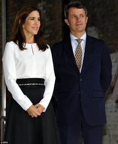 Crown Princess Mary and Crown Prince Frederik visited Toronto's Muscular Dystrophy Association  20 September 2014