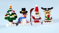 Winter Friends – New Ideas Winterfreunde Winterfreunde Lego Christmas Ornaments, Lego Christmas Village, Lego Winter Village, Noel Christmas, Christmas Crafts, Lego Disney, Disney Diy, Lego Duplo, Lego Technic