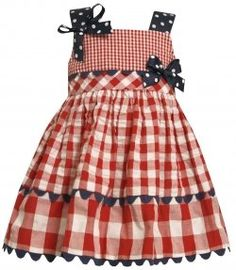 Such a cute 4th of July dress!