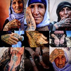 TRADITIONAL KURDISH TATTOOS