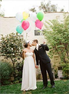 ballon wedding ideas