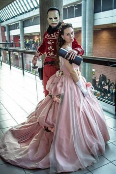Cosplay the Phantom of the opera Christine by Atelierbacodaseta