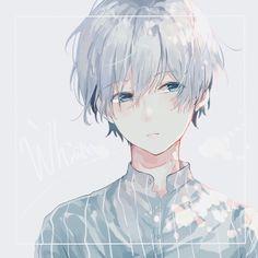 Anime Boy / Anime Kun with White Hair # kun amor boy dark manga mujer fondos de pantalla hot kawaii Anime Oc, Kawaii Anime, Sad Anime, Hot Anime Boy, Cute Anime Guys, White Hair Anime Guy, Persona Anime, Anime Boy Zeichnung, Handsome Anime
