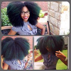 BIG NATURAL HAIR #YAS