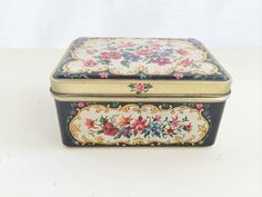 Petite Vintage Tin Needlepoint Imagery by ChatwoodMarket on Etsy