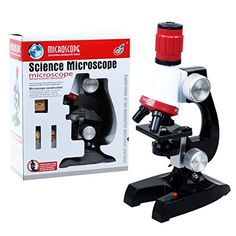 Childrens Microscope 23 Piece Set 100x 200x And 450x Magnification