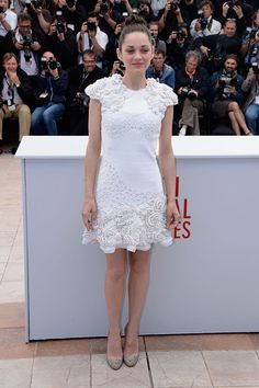 Marion Cotillard wearing Alexander McQueen #Cannes 2013