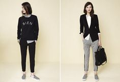 Madewell Fall 2013 Fun, classy and chic all in one! Love these two looks.