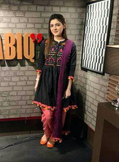 Tulip pant Pakistani Fashion Casual, Pakistani Outfits, Ethnic Fashion, Indian Outfits, Indian Fashion, Girl Fashion, Stylish Dresses, Simple Dresses, Casual Dresses