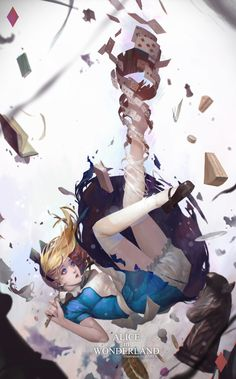 ArtStation - Alice in wonderland, Kim Han seul (aka Haren)