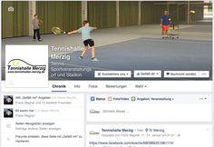 Social-Media Beratung für die Tennishalle in Merzig. Wir unterstützen die Betreiber der Halle mit drei Indoor-Plätzen bei ihren Social-Media Aktivitäten.