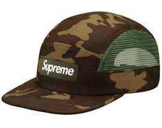 Supreme   Camo Side Mesh Camp Cap   Available Now