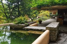 Image result for swimming pool at falling water