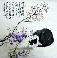 Cat - Chinese Painting