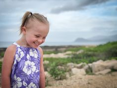 Indiana, 4yrs. old, on vacation in Hawaii. From blog dated 03/08/18.