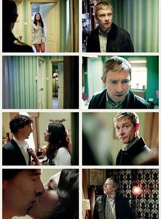 """And in that moment we were all John Watson."""
