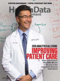 This is story verify's the articles I've written for .HIMSS on the merits of analytics