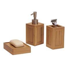 New Post 3 piece bathroom accessory set