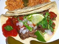 Beer Braised Tacos with Toasted Chile de Arbol Salsa