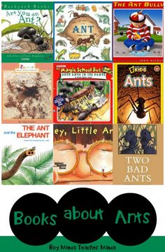 Book Mama: Books about Ants