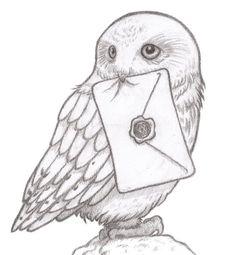 Owl hogwarts letter