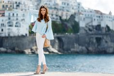 larisa costea, larisa costea blog, the mysterious girl, the mysterious girl blog, fashion blog, blogger, fashion, fashionista, it girl, travel blog, travel, traveler, ootd, lotd, outfit inspiration,look of the day,outfit of the day,what to wear, hote, fashion blogger in amalfi, amalfi, amalfi coast,south of italy,italia, italy, calatorie,jurnal de calatorie, travel journal, journey, adventures, port,cliffs, chiwish, bell sleve, top, blue bell sleve top, pastel blue,serenity blue, white…