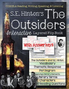 a discussion on character setting and plot development in the outsiders by se hinton Everything you need to know about the setting of se hinton's the outsiders,  where she was living when she wrote the story as a  city characters flee.