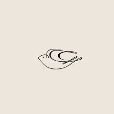 One-line abstract hand-drawn bird design vector art illustration Vector Logo Design, Logo Design Template, Branding Design, Free Vector Graphics, Vector Art, Swift Bird, Bird Illustration, Illustrations, Bird Logos