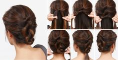 ❤ Knotted hair updo | Tutorial #cliphair #knotted #hair #updo