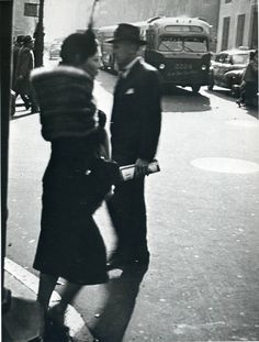 "NYC. ""Women are beautiful"" series by Garry Winogrand"