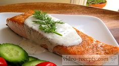 Seared Salmon with Creamy Dill Sauce - Recipe for crispy seared salmon topped with a creamy fresh dill sauce. Stove to table in 20 minutes. Healthy, gluten free, kosher for Passover. Salmon With Creamy Dill Sauce Recipe, Dill Sauce For Salmon, Lemon Dill Sauce, Dill Salmon, Salmon Fillets, Creamy Sauce, Roasted Salmon, Grilled Salmon, Baked Salmon