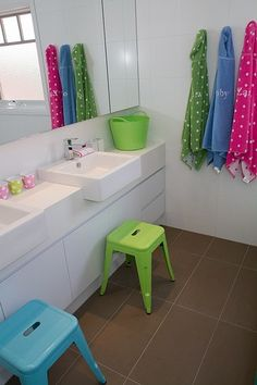 #kids #bathroom #inspiration http://www.divinebathrooms.com.au/blog/kid-safe-bathroom-design-guide/
