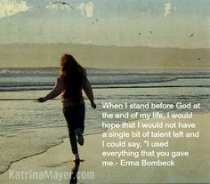 Erma Bombeck - great quote