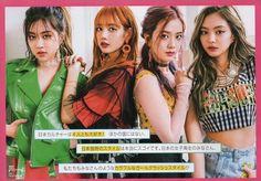 Rosé, Lisa, Jisoo, and Jennie
