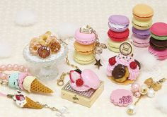 decoden clay sweets by Mayu Sekiguchi