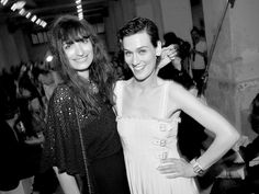 Caroline de Maigret and Clotilde Hesme at CHANEL CRUISE 2013 at Loewen Cluster, Singapore