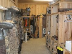 Ideas For Storing Hunting Clothes